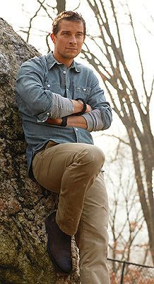 Bear grylls, Bears and Discovery channel on Pinterest