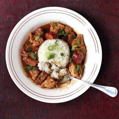 Made this on Fat Tuesday, excellent recipe!!! Chicken and Andouille Etouffee Recipe - Saveur.com