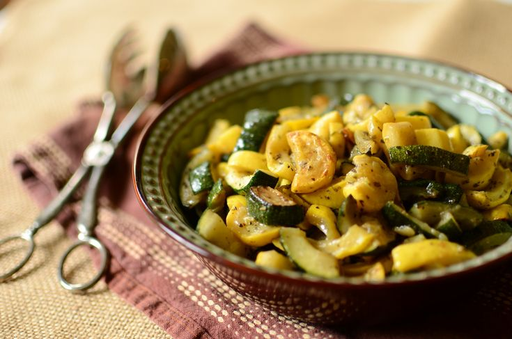 CSA - Sauteed Summer Zucchini and Summer Squash