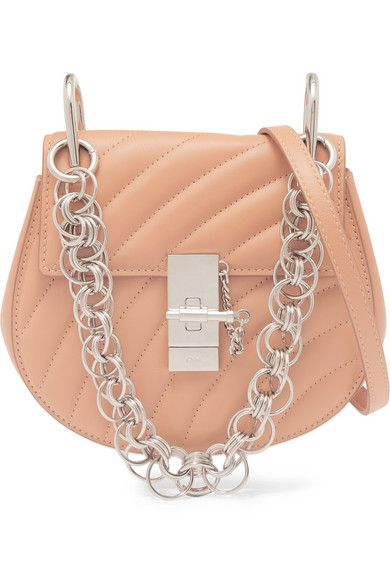 c2a5c90d5e8 Chloé | Drew Bijou quilted leather shoulder bag | NET-A-PORTER.COM