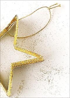 Shake -n- make glitter ornaments