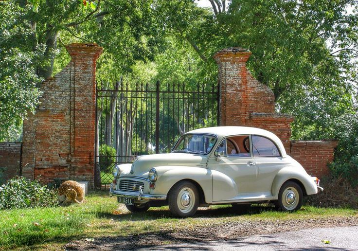 The Morris Minor 1000 - this is such a cute little car, and oh so Bohemian too! They come as a 2 & 4 door sedan, a 2 door convertible, and woody wagon , a panel delivery truck, and a pickup truck. I wish I had all of them.