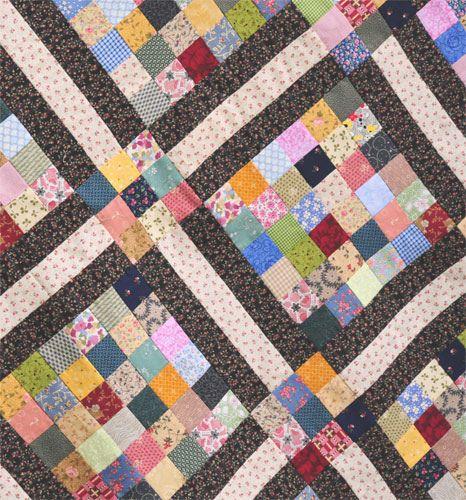 scrappy quilt blocks by nanotchka, via Flickr