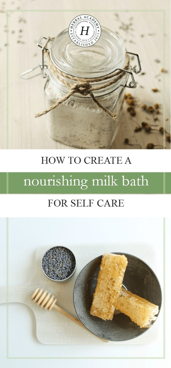 Would you like to create your own oasis of self care? Let us show you how with this relaxing and nourishing milk bath recipe!