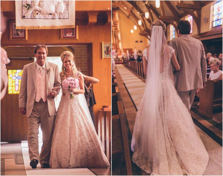 Rustic Church Wedding