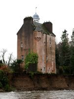 This Dramatic Video Of A Scottish Castle On The Brink Of Collapse Is Going Viral #refinery29