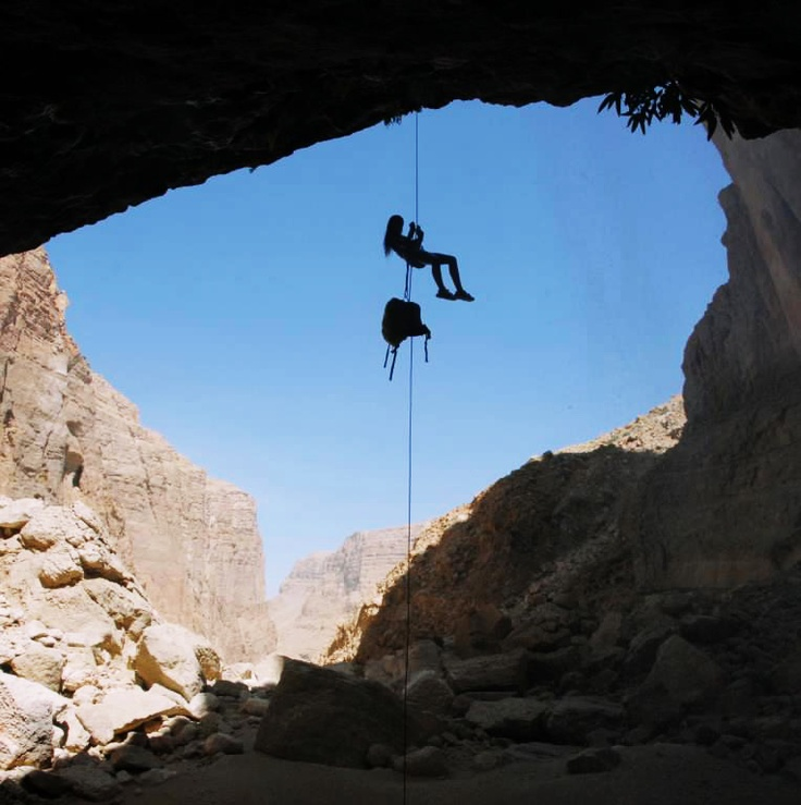 Oman | Adventures in Oman: Canyonning. credit: Khaled Abdul Malak. view on Fb https://www.facebook.com/OmanPocketGuide #oman #traveltooman #destination