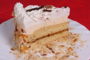 Madártej torta - Finom desszert receptek képekkel bármilyen alkalomra