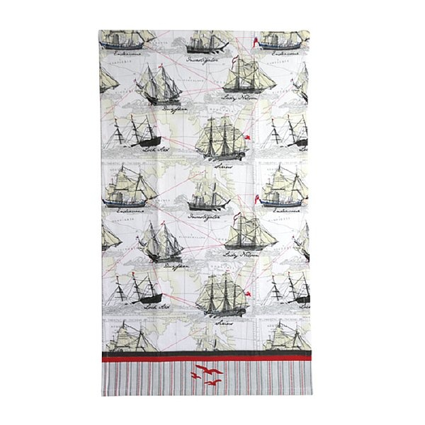 Australian Maritime Organic Cotton Tea Towel $13.95. With embroidered seagull detail. http://www.greengiftsaustralia.com.au/shop/index.php?main_page=product_info&cPath=2_59&products_id=207