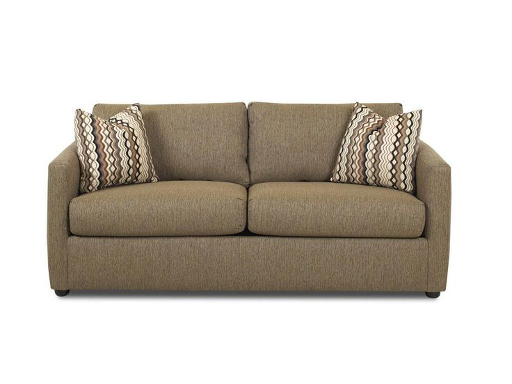 Klaussner Living Room Jacobs Queen Sleeper. The Jacobs Sofa Sleeper Is Sure  To Guarantee A