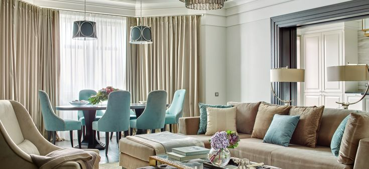 How To Pick Curtains For A Sophisticated Dining Room Design | Dining Room Ideas. Dining Room Design. #diningroomideas #diningroom #diningroomdesign Read more: http://diningroomideas.eu/pick-curtains-sophisticated-dining-room-design/