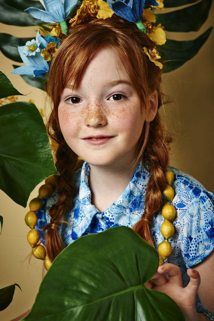 #Lova #didi #zomer #2014 #lookbook #lookbook_didi #fashion #hairstyle #flowers_in_hair #redhead #model #2014 #zomer