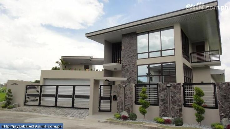 Minimalist house design house design pinterest house for Minimalist home designs philippines