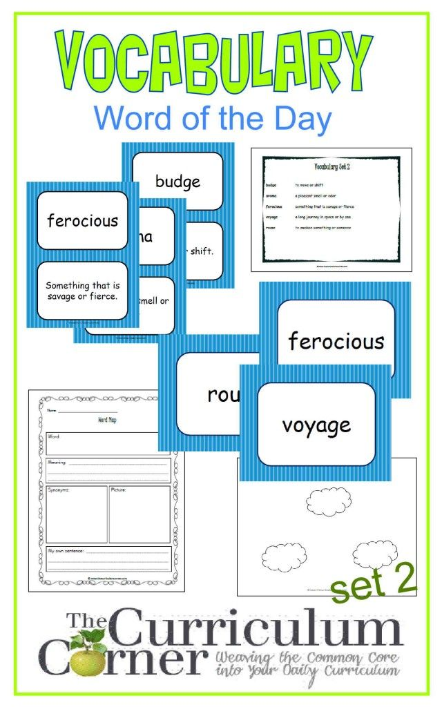 18 best Vocabulary images on Pinterest | Vocabulary words, Teaching ...