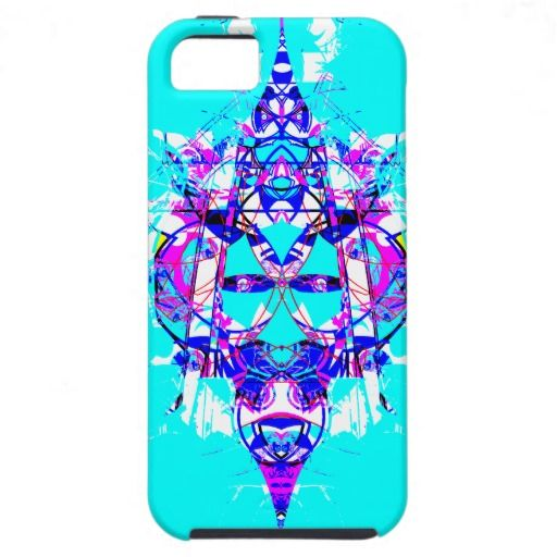 Digital Graffiti Funk | Sky Blue | iPhone 5 Cover | by groovygap | #skyBlue #purpleaccents #coolpin