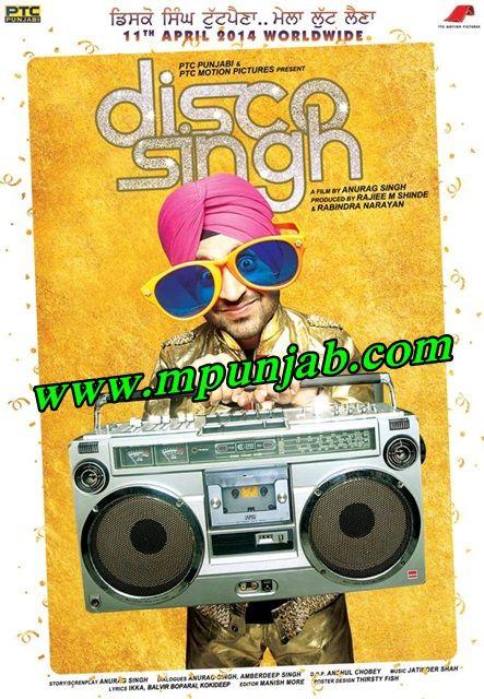 Disco Singh (2014) 1CD DVDRIP - Download Punjabi Full Movie Added 3Gp,Mp4,Iphone,Pc Formats http://www.mr-punjab.com