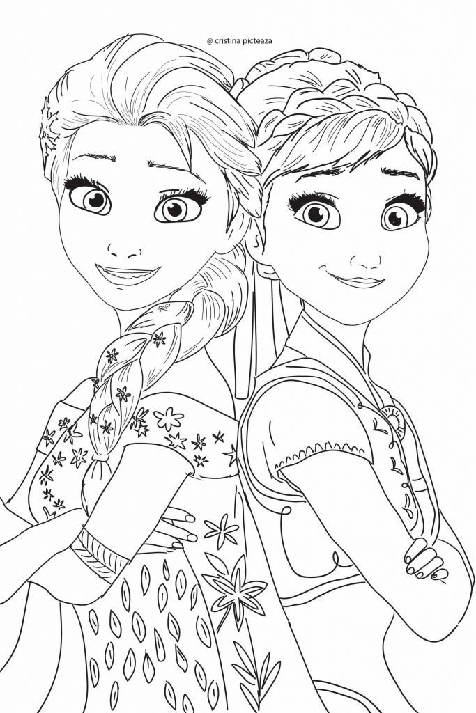Frozen 2 Coloring Pages Frozen coloring pages, Disney