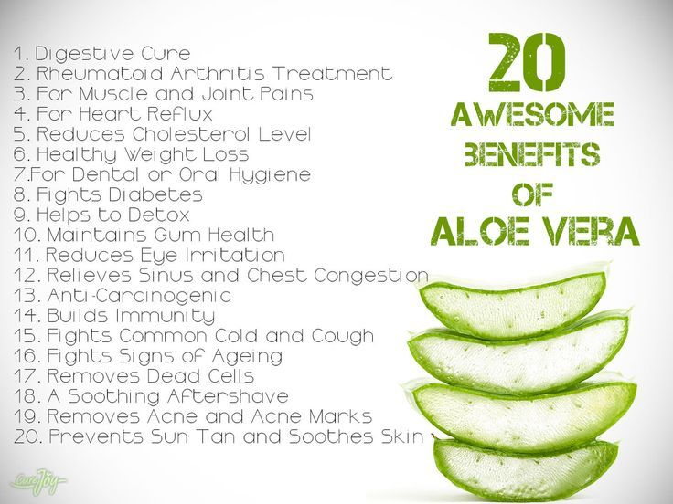 Read 20 awesome benefits of Aloe Vera www.AloeLiving.net