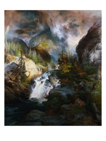 Children of the Mountain by Thomas Moran