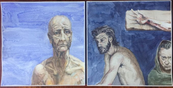 Old Testament and New Testament Watercolour Series