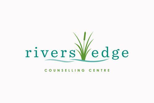 Rivers Edge Counselling Centre - Logo Design www.kristingibson.ca