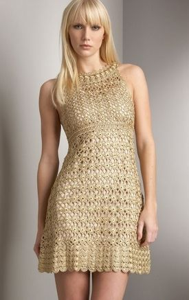 un-separated crocheted dress pattern I want to make this. Still have to improvise a lot from the pattern charts though...