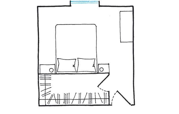 Oltre 25 fantastiche idee su design camera da letto for Planimetrie della cabina 4 camere da letto