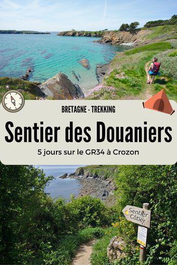 5 jours de randonnée en Bretagne pour faire le tour de le presqu'île de Crozon! Un sentier sublime qui suit le fameux GR34, aussi appelé le sentier des douaniers qui longe toute la côte bretonne. Itinéraire, photos et récits de notre trek de 4 jours.