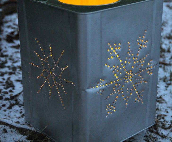 Ljuslykta - kanske göra stjärnbilder?