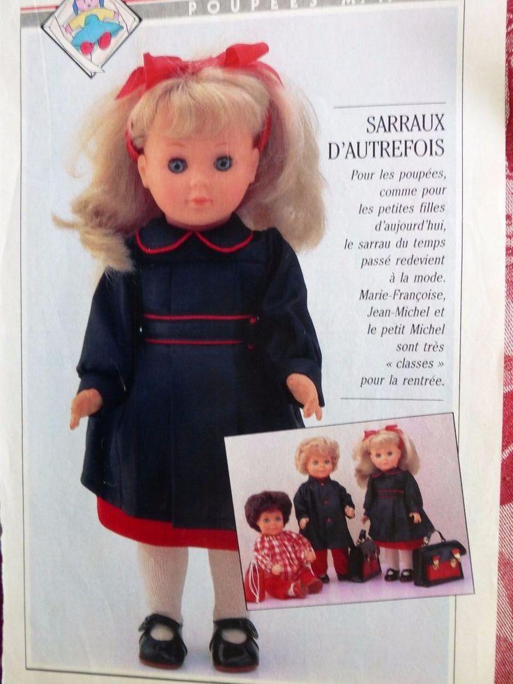 PAGE POUPEE MODES ET TRAVAUX sept 85 in Jouets et jeux, Poupées, vêtements, access., Poupées anciennes   eBay