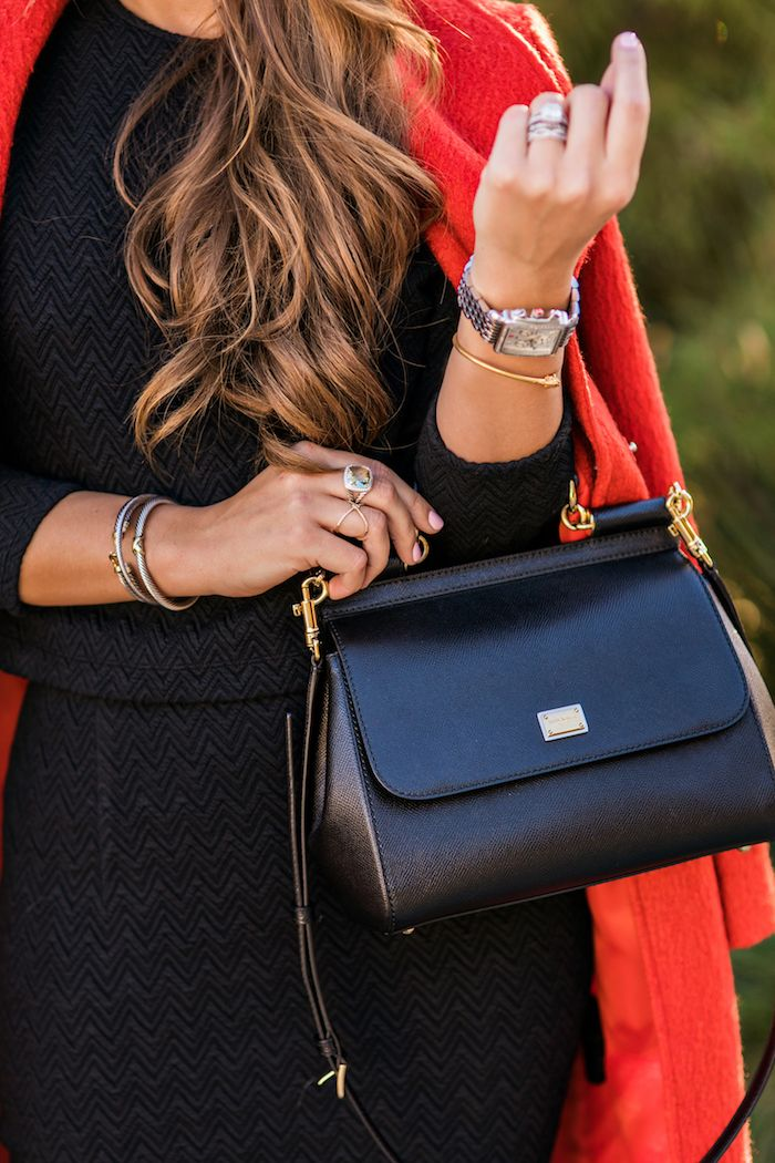 The Perfect Little Black Bag Top Picks For Winter 2017 Pinterest Bags Dolce And Gabbana Purses Handbags