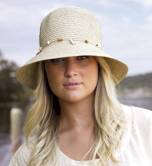 Our feminine Gatsy hat #summer #fashion