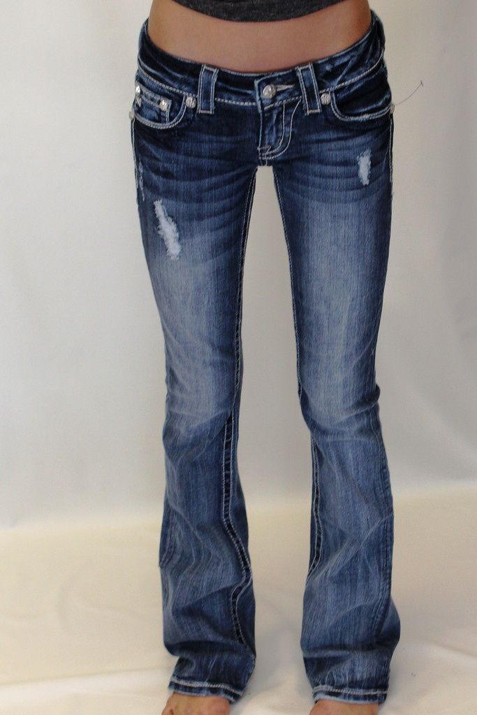 A pair of Miss Me Jeans in the winners choice of style and size