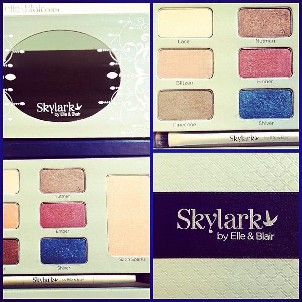 Skylark Snowkissed Cashmere Palette