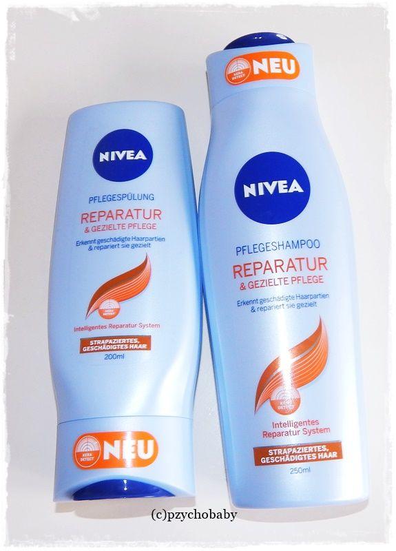 Nivea Reparatur und gezielte Pflege - Pflege für strapaziertes und sprödes Haar