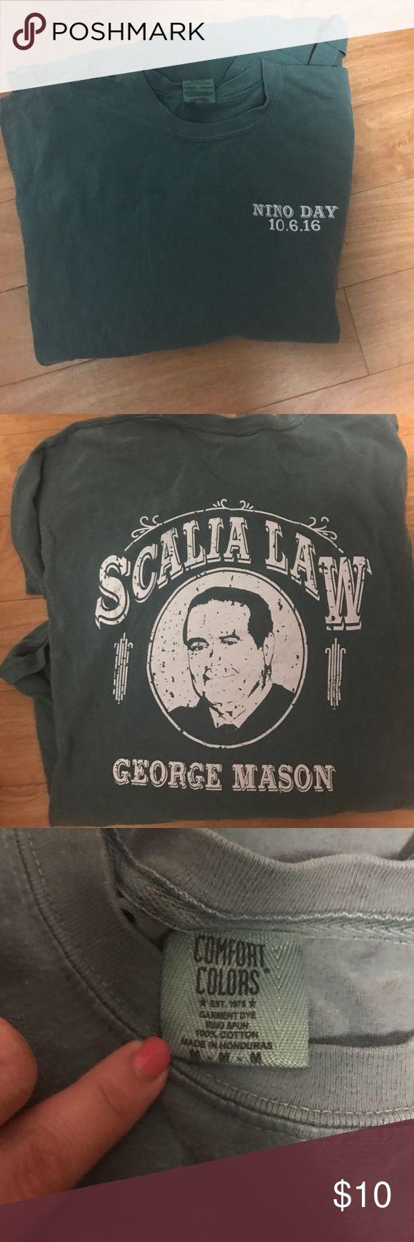 Color printing gmu - George Mason Law School Shirt Scalia Law School Nino Day T Shirt Size Medium Shirts Tees