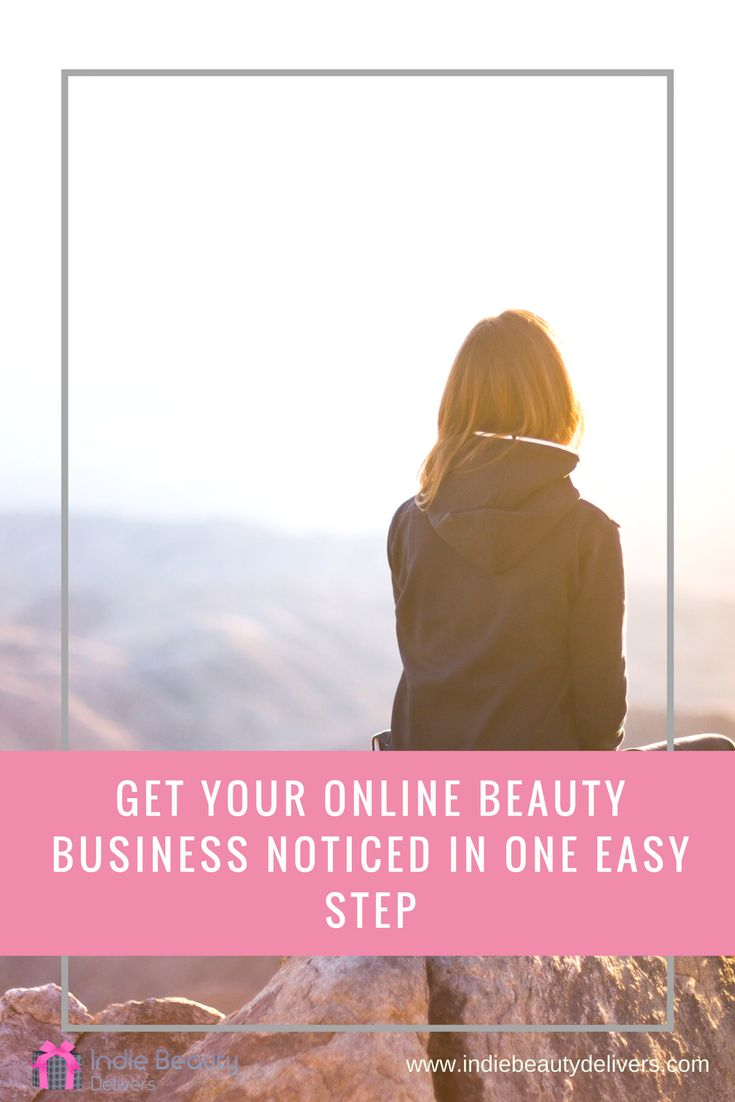 How on earth can you get your indie beauty brand to stand out from the online crowd. In this blog I provide one easy idea that will definitely make your business stand out.