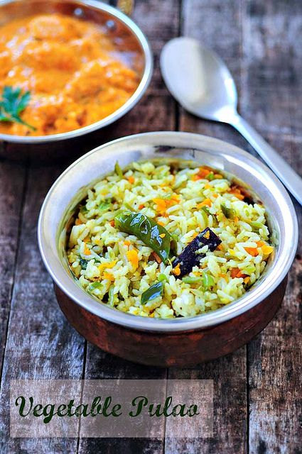 Vegetable Pulao Recipe (pairs well with butter chicken) | Easy, Step by Step - by Edible Garden #indian