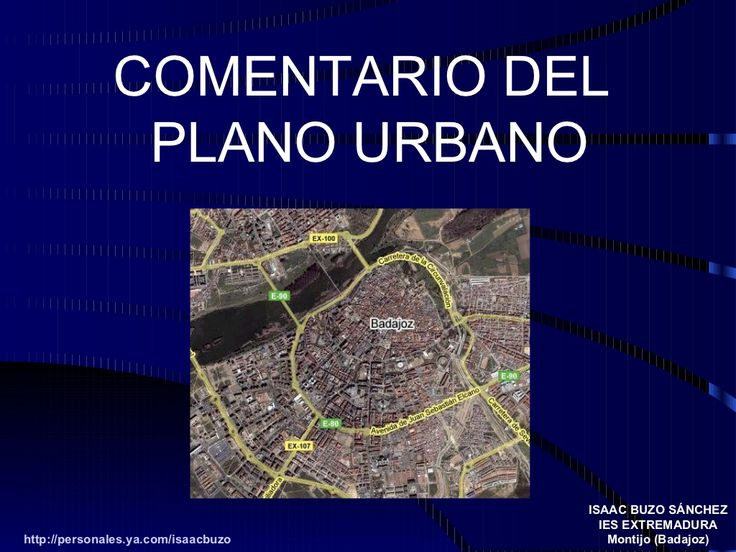 ciudad by Isaac Buzo via Slideshare
