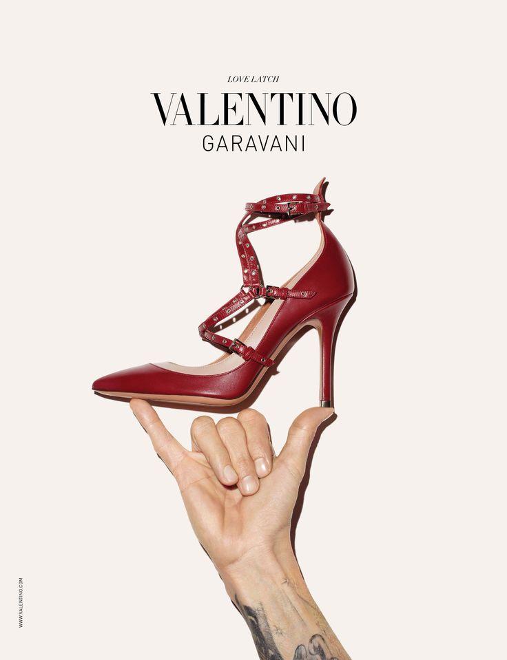 For a feminine Valentino look.