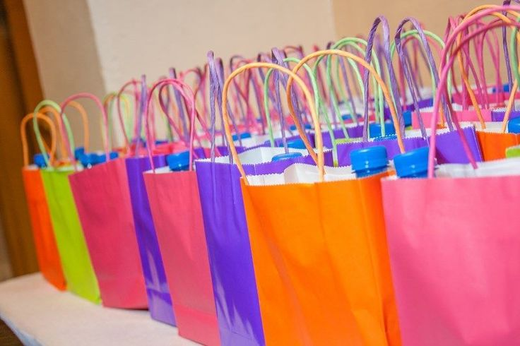Zumba party favors bags