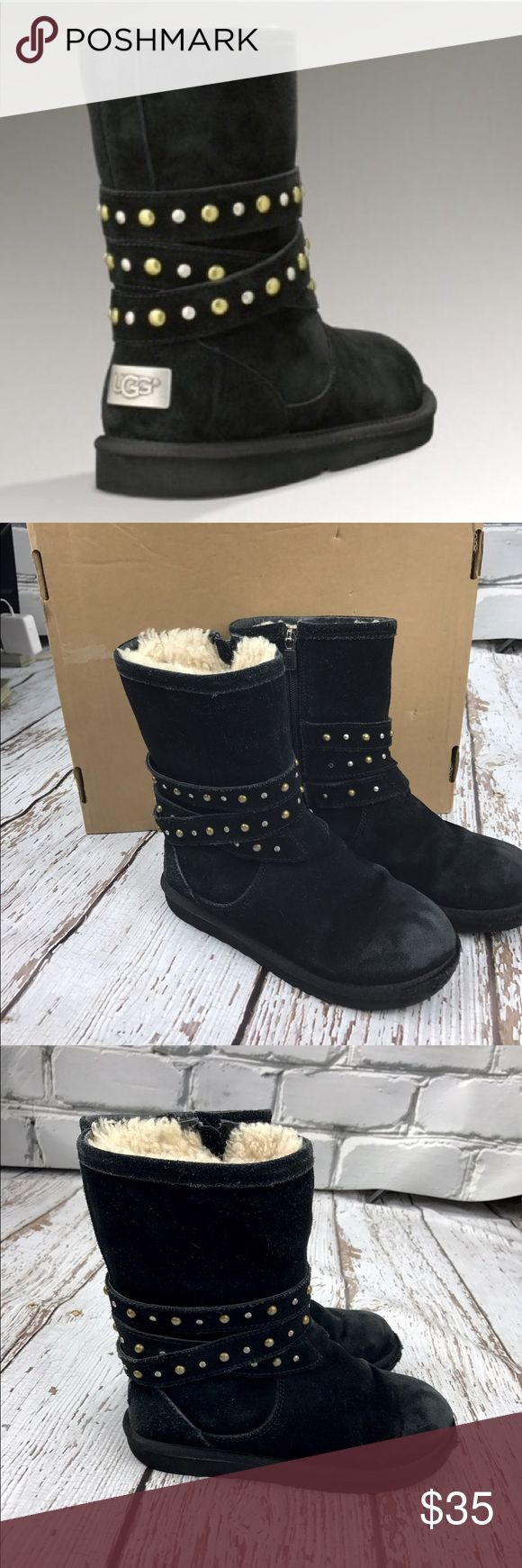 💕SALE💕 Ugg Back Studded Boots Cozy 💕 Ugg Back Studded Boots some fading on toes but otherwise Great Condition UGG Shoes Boots