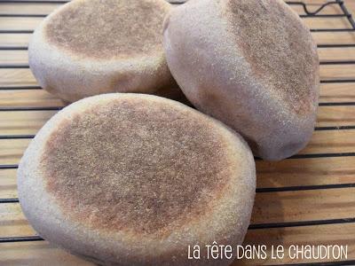 Muffins anglais au blé entier