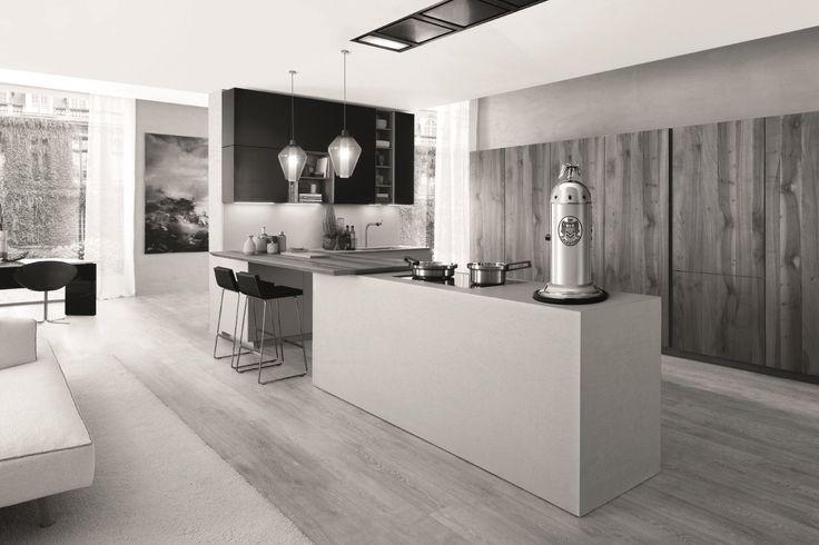 ¡Ya están aquí! las tendencias en diseño de cocinas 2017  ¡Las cafeteras de lujo ganan protagonismo en el interiorismo! ¿La estrella? #Elektra #Miniverticale   http://www.lussoprodec.com/ofertas-cafeteras-expresso-elektra/  #coffetime #decoración #interiorismo #deco #coffelovers #lujo #coffelovers #LussoProdec