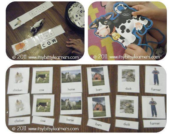Weekly Wrap-Up: Farm Preschool Theme - itsybitsylearners.com
