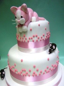 The 25 best Cat birthday cakes ideas on Pinterest Kitten cake