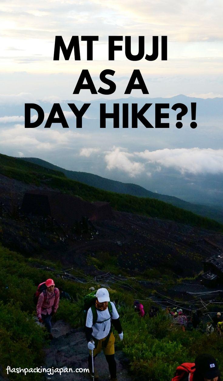 Mt Fuji bullet climb as day trip from Tokyo?! Hiking Japan