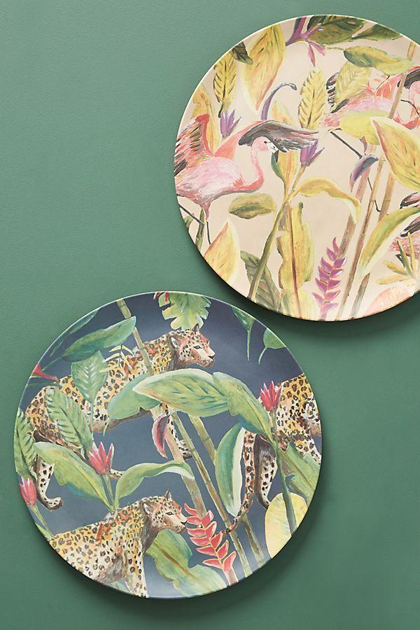 Femke Zwaan Bamboo Melamine Dinner Plate Melamine Dinner Plates Dinner Plates Plates