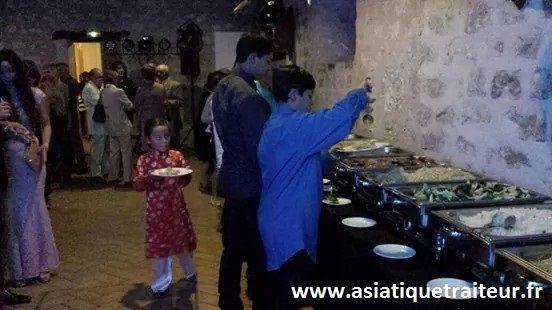 Traiteur asiatique enfant