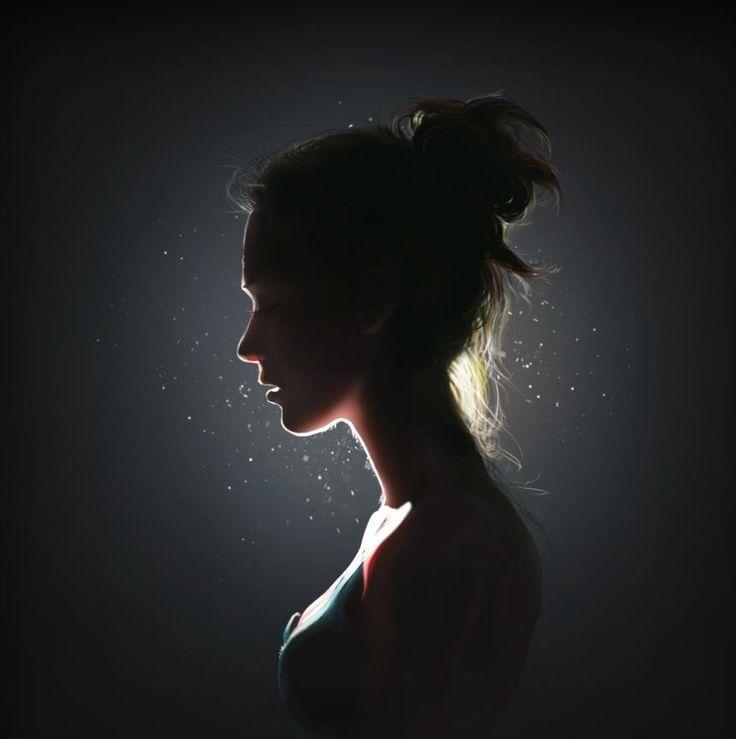 Backlighting.  Portrait by Deqobraz